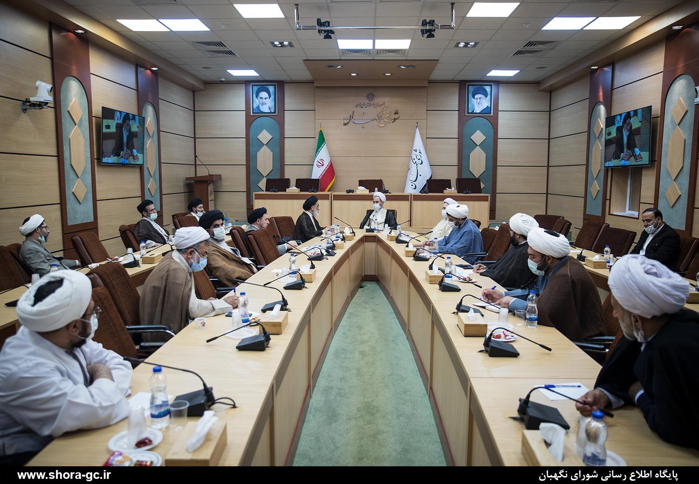 فراکسیون روحانیت مجلس جنبه شرعی مصوبات را با فقهای شورای نگهبان در میان بگذارد